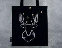 night deer // silver & gold
