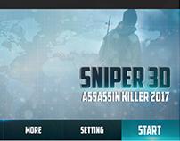 Sniper Assasin Game Ui Design