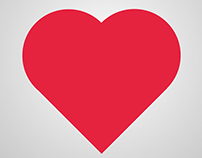 Heart Icon in Adobe illustrator