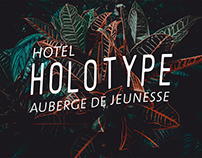 Holotype Hotel - Branding Identity and scenography