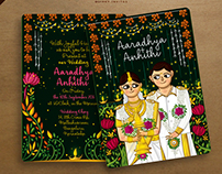 Kerala Wedding Invitation