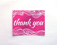 Brock Beauty Thank You Card