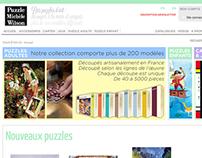 2012-Website for Puzzles-et-jeux