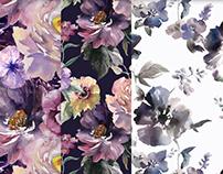 Watercolor flora