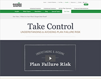 Plan Failure Risk - Microsite