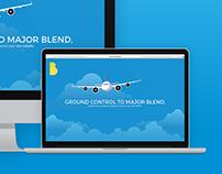 Blend Media Landing Page