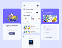 Online Course App Design