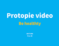 Be healthy - Protopie video
