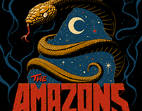 The Amazons Tour Posters