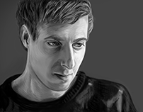 Arthur Darvill Digital Portrait