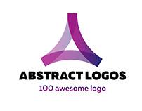100 abstract logo