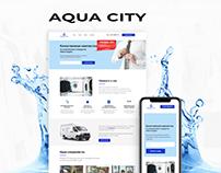 Aqua City — сайт для премиум химчистки