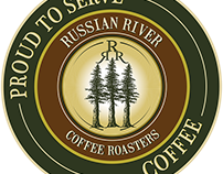Coffee Bazaar & Russian River Roasters Print Design