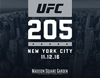 UFC 205 Deck for FOX