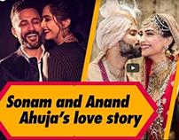 Sonam Kapoor Ahuja and Anand Ahuja's love story | Femin