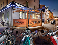 Triumph Motorcycles Store Munich
