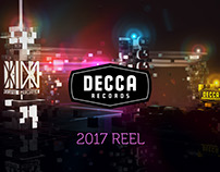 Decca Records - Showreel Title Sequence 2017