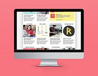 Republikken homepage