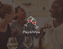 """Play&Wine"" Logo and Label Design"