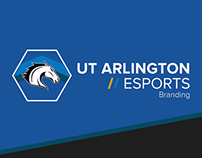 UT Arlington eSports Branding