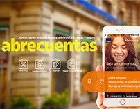 Itaú LATAM :: Lançamento App Abrecuentas