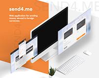 Send4.me - sending money web app
