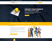 Construction – Renovation Business WordPress Theme