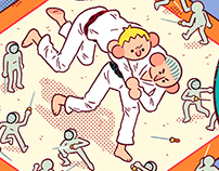 Judo & Sgrimey, Powerade