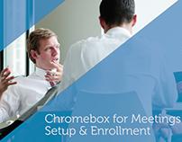 Dell Chromebox - Setup