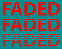 Faded Poster