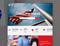 Politic WordPress Theme - Candidate Site Builder