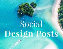 Social Design Posts