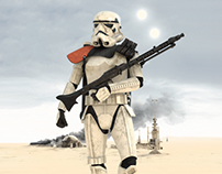 Star Wars Poster / Sandtrooper