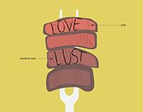 Love & Lust Poster: Strip Steak