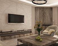 Chic Living Room - Obour Villa
