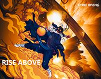运球老道,突破小生-NBA篮球明星Kyrie Irving插画制作