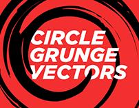 Circle Grunge Vectors (kit)