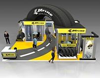 JK Tyre Stall design