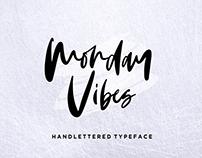 Monday Vibes - Handwritten Font