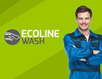 Ecoline Wash - UI/UX App + Website