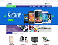 Ecommerce site home page ddesign