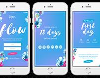 Concept & UX/UI Design: Kotex Flow App