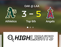 Sports App UI Designs