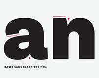 Basic Sans font family