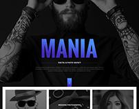 Photography Portfolio Landing Page