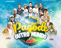 PAGODE DE OUTRO MUNDO - FLYER