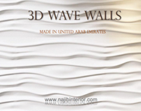 3D Wave Panels & Mashrabiya