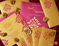 Wedding Invite Design for Ravit & Garima