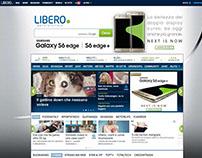 Samsung S6 Edge Plus - ADV Homepage Libero.it