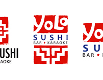 Yolo Sushi Logo Designs